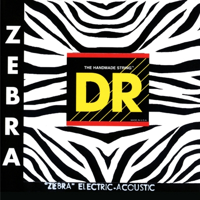 DR Strings ZAE-12 Zebra