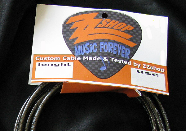 ZZshop Custom Cable-Instrument 4m rovný/rovný XXL