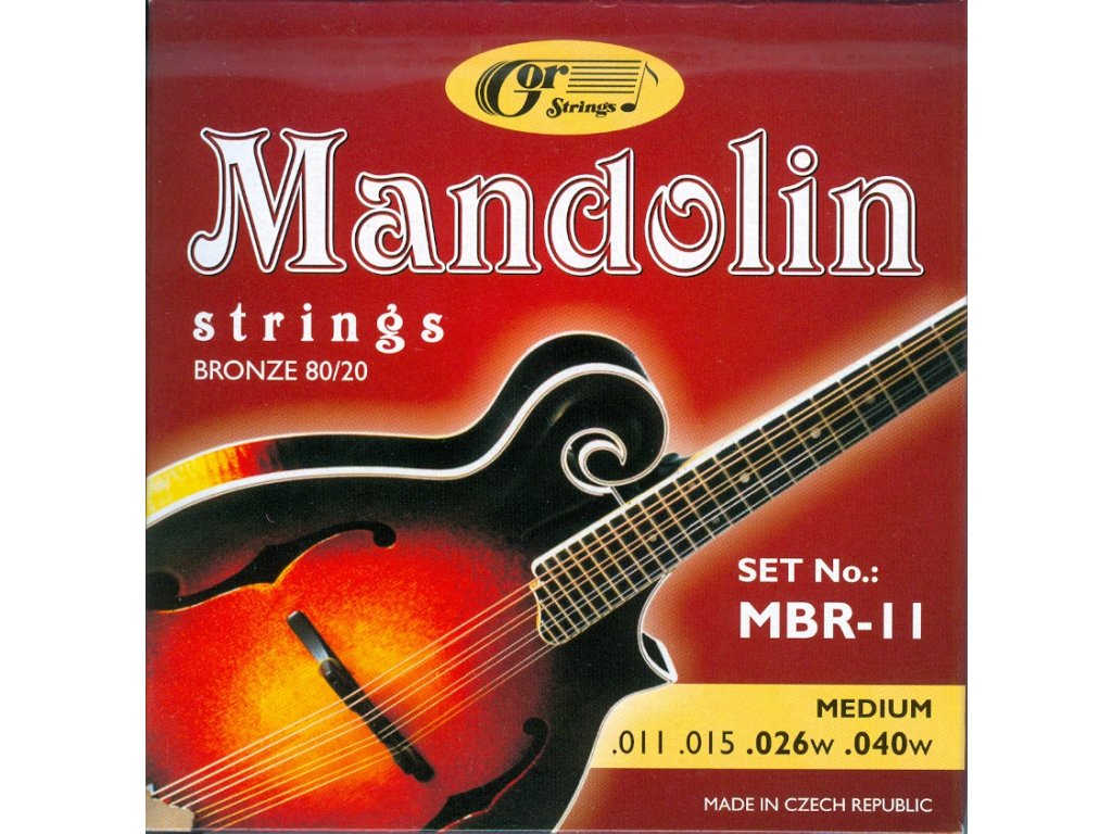 Gorstrings MBR-11 Medium (.011 - .040)