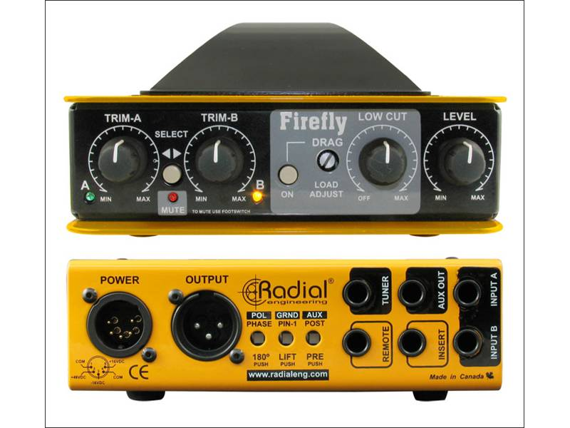 Radial Firefly  Active DI Box