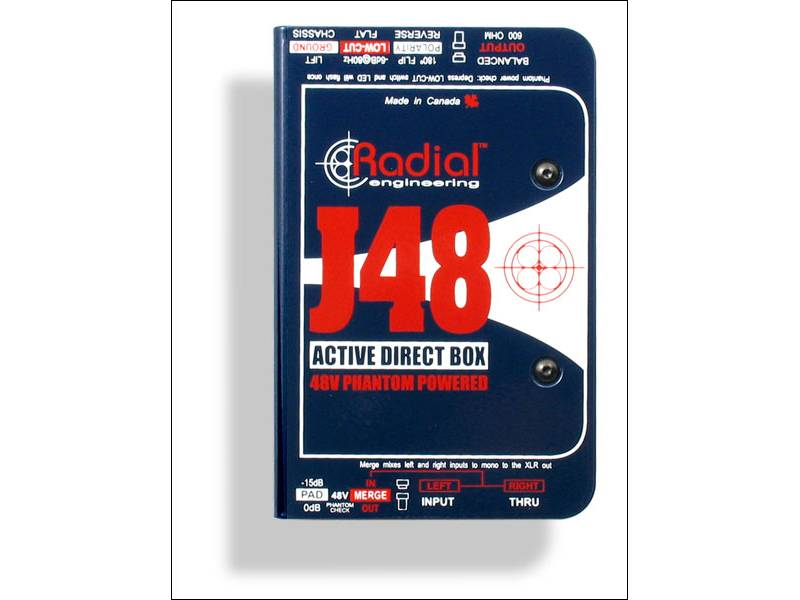Radial J48 Active DI box