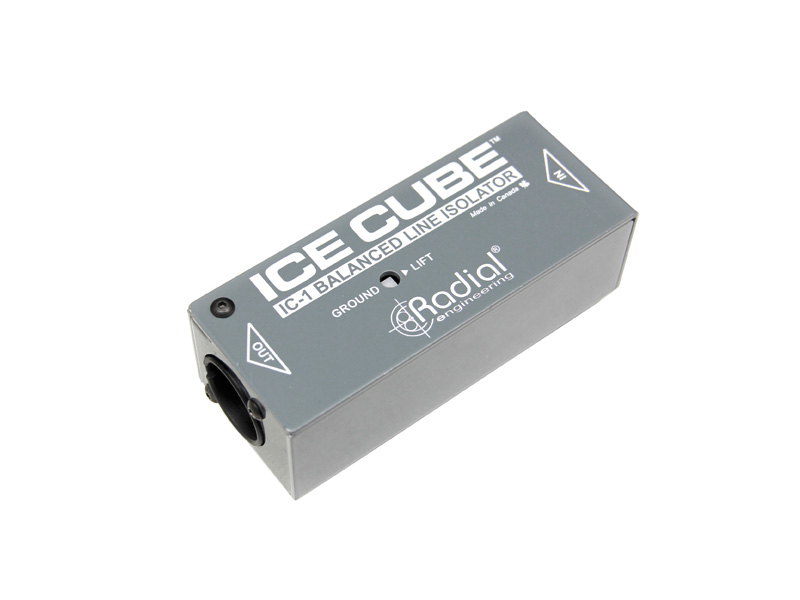 Radial Ice Cube IC-1 Balanced Line Isolator