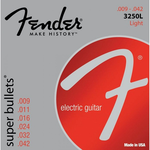 Fender 3250L Super Bullets 9-42
