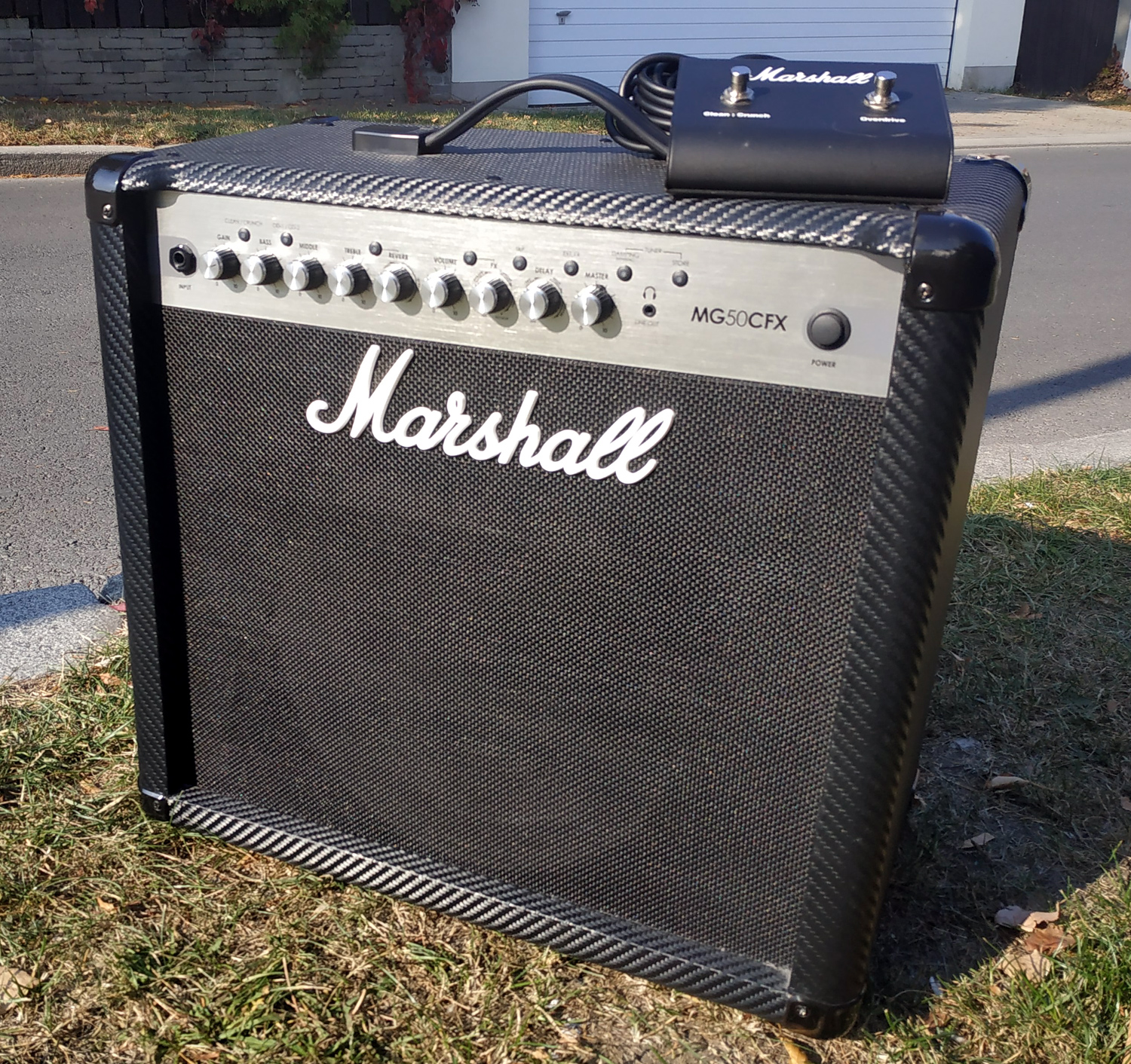 Marshall MG50CFX + footswitch