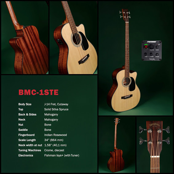 Sigma Guitars BMC-1STE