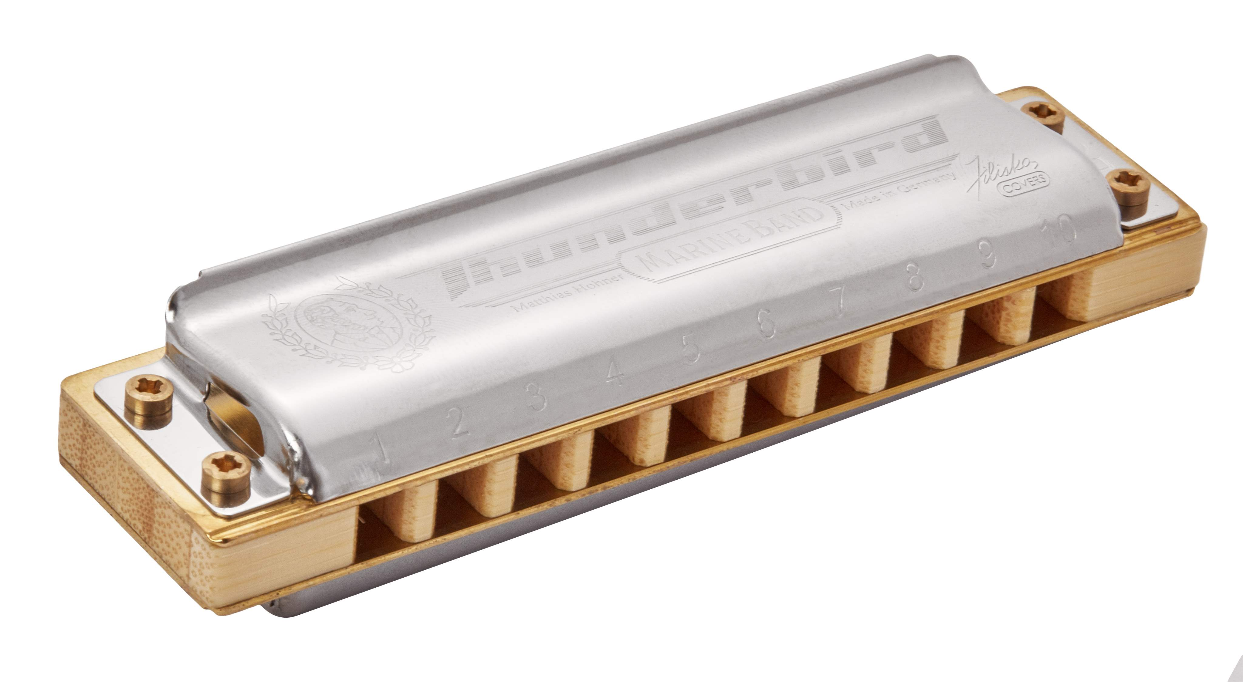 HOHNER Marine Band Thunderbird G-major, low octave