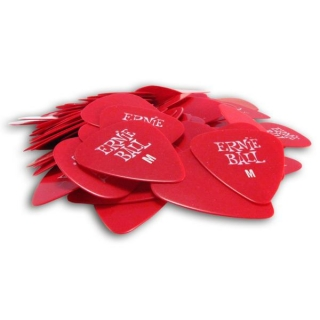 ERNIE BALL 9178 Medium Red Picks 0.74 mm
