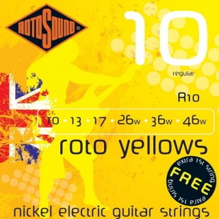 Rotosound R10 Roto Yellows 10/46
