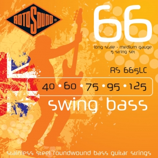 Rotosound Swing Bass RS 665LC