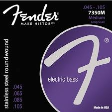 FENDER 7350 electric bass Medium .45-.105