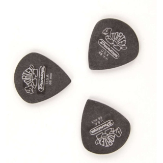 Dunlop TORTEX  JAZZ III  BLACK .88