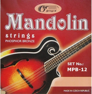Gorstrings MPB-12 Heavy Bluegrass (.012 - .042)