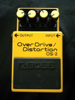 BOSS OS-2 Over Drive Distortion