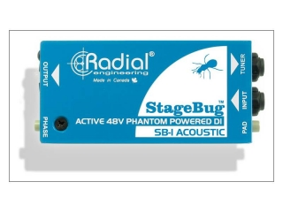 Radial StageBug SB-1 Acoustic Active DI Box