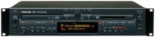 TASCAM MD-CD1 MKIII  CD player, MP3 ID3 tag, MD rekordér