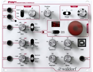 Waldorf nw1 Wavetable