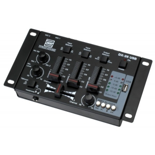 Pronomic DX-26 USB DJ-Mixer