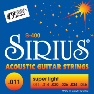 Gorstrings S-400 Super Light (.011-.046)