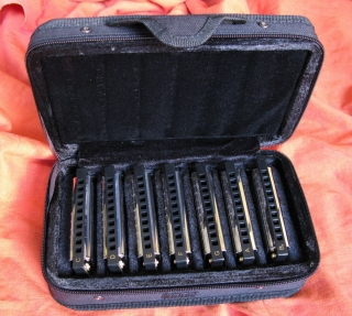 Hohner Blues Harmonicas Starter Set