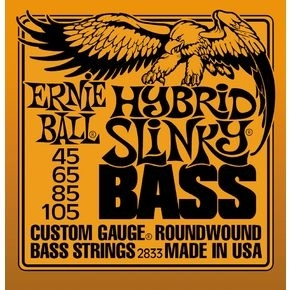 ERNIE BALL 2833 Hybrid Slinky Bass Nickel Wound .045 - .105