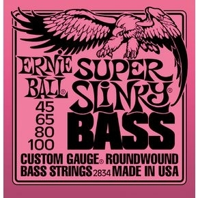 ERNIE BALL 2834 Super Slinky Bass Nickel Wound .045 - .100