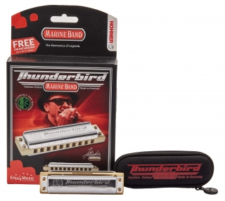 HOHNER Marine Band Thunderbird F-major, low low octave
