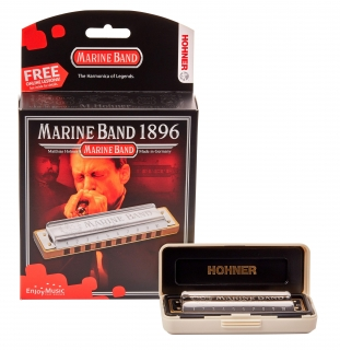 HOHNER Marine Band 1896 C-major