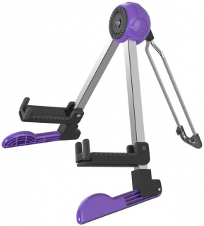 GUITTO GGS-03 Robot Guitar Stand Purple