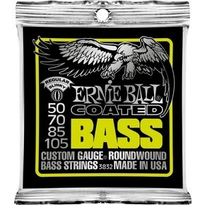 ERNIE BALL 3832 Coated Bass Strings - Regular Slinky .050 - .105