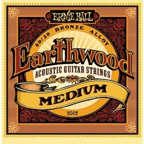 ERNIE BALL 2002 Earthwood Medium .013 - .056 Acoustic 80/20 Bronze