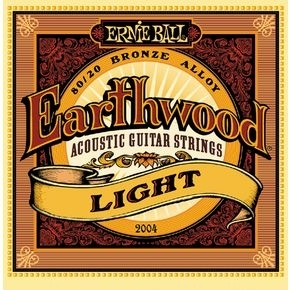 ERNIE BALL 2004 Earthwood Light .011 - .052 Acoustic 80/20 Bronze